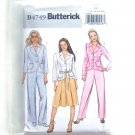 Misses Jacket Skirt Pants 16 18 20 22 Easy Butterick Sewing Pattern B4749
