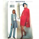 Misses Vest Skirt Pants 18 20 22 Ellen Tracy Butterick Sewing Pattern 6824