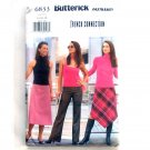 Misses Skirt Pants 14 16 18 Easy Butterick Sewing Pattern 6833
