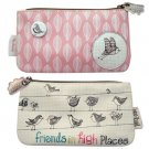 Wagtail Zip Pouch by Disaster Designs