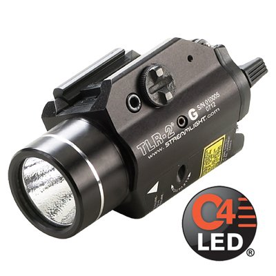 Steamlight TLR-2 Rail Mounted Tactical Light with Green Laser - 69250