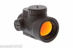 Trijicon 1x25mm MRO 2.0 MOA Adjustable Red Dot Sight Black - 2200003 - NEW