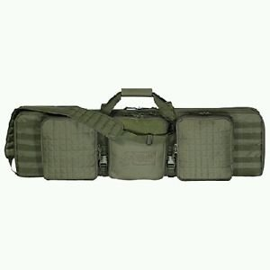 "VOODOO TACTICAL Voodoo 42"" Deluxe Padded Weapon Case w/Locks, OD Green"