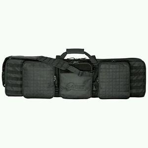 "VOODOO TACTICAL Voodoo 42"" Deluxe Padded Weapon Case w/Locks, Black"