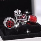 2017 NEW Woman jewelry Happy New Year Chinese Dancing Lion Charms Jewelry Sets