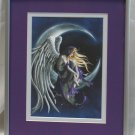 Moon Dreamer by Nene Thomas Double Matted & Framed