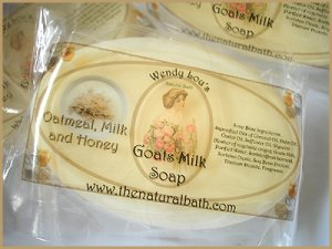 Oatmeal, Milk & Honey Goats Milk Soap