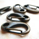 Finding - 1 pc Antique Brass Lobster Buckle Large Clasps 30mm x 15mm