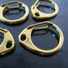 Finding - 2 pcs Gold Very Large Solid Lobster Claw Large Clasp Closure Toggle Buckle 28mm x 22mm