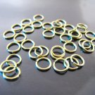 Finding - 20 pcs 6mm Gold Open Jump Rings