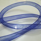 2 Yards of Blue Horsehair ( Crin ) Tube Crinoline for Hair Accessories ( 7mm Width )