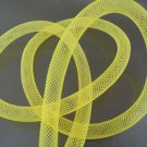 2 Yards of Yellow Horsehair ( Crin ) Tube Crinoline for Hair Accessories ( 7mm Width )