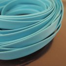 1 Yard 6.5mm Turquoise Blue Flat Leather Cord
