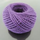 50 Yards 2mm Amethyst Purple Hang Tag String Hemp Twine Cord Hemp Rope Gift Wrapping