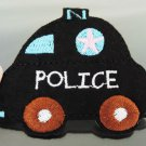 Police Car Patches Iron On Patch Applique Embroidered Patch Sew On Patch
