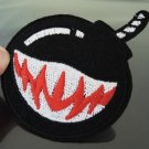 Black Bomb Patches Iron On Patch Applique Embroidered Patch Sew On Patch