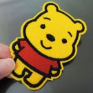 Winnie the Pooh Patches Iron On Patch Applique Embroidered Patch Sew On Patch