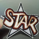 Star Letter Patches Iron On Patch Applique Embroidered Patch Sew On Patch