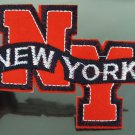 New York Letter Patches Iron On Patch Applique Embroidered Patch Sew On Patch
