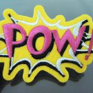 POW Letter Patches Iron On Patch Applique Embroidered Patch Sew On Patch