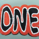 One Letter Iron On Patch Applique Embroidered Patch Sew On Patch