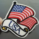 USA Country Flag Patches Iron On Patch Applique Embroidered Patch Sew On Patch
