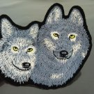 Wolves Wolf Patches Iron On Patch Applique Embroidered Patch Sew On Patch