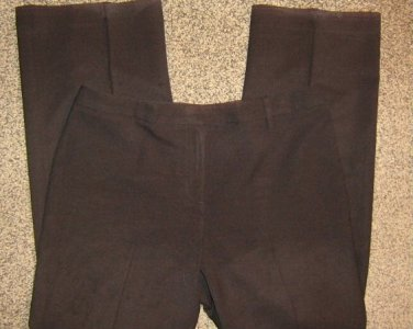 ANN TAYLOR * Petite Womens Collection sz 10 10P black career dress Pants