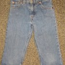 LEVI STRAUSS * Girls sz 6 cropped & cuffed denim jean PANTS