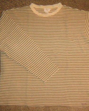 CALVIN KLEIN * Mens sz LARGE casual cotton SHIRT
