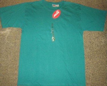 NWTS * AVIA * Mens sz MEDIUM M teal green tee Shirt