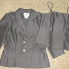 DBY * Womens sz 7 8 black Blazer Jacket SHIRT matching career lot