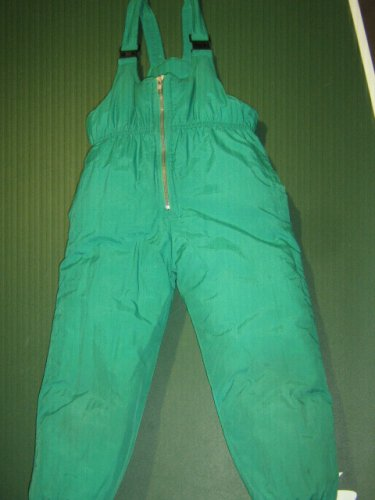 FRENCH TOAST Boys or Girls sz 4 4T insulated green ski snow pants