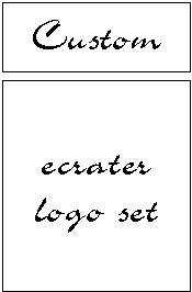 Ecrater logo set ~ coordinating logo & home page pic (custom)