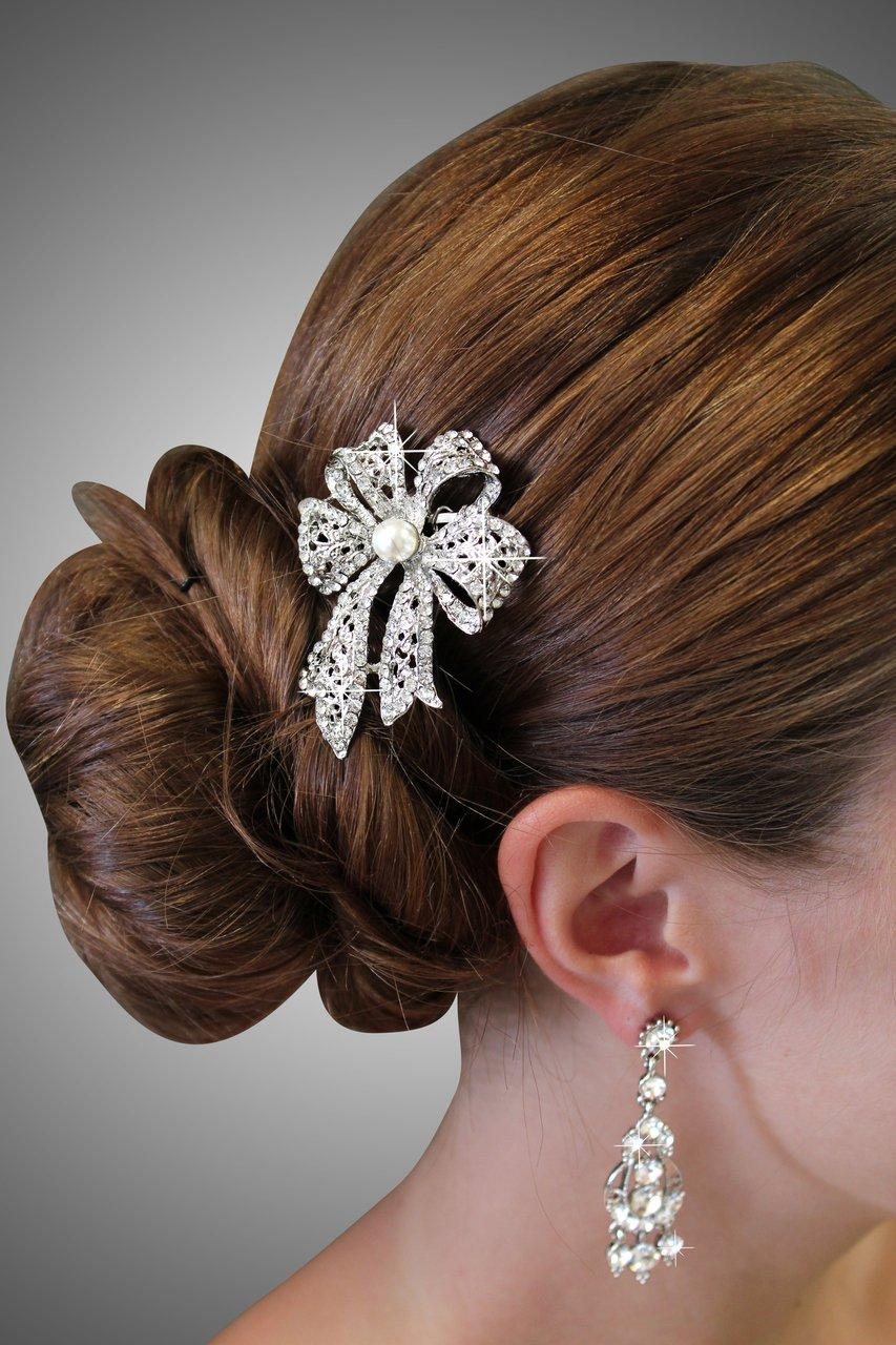 Bridal Austrian Hair Pin #HP206