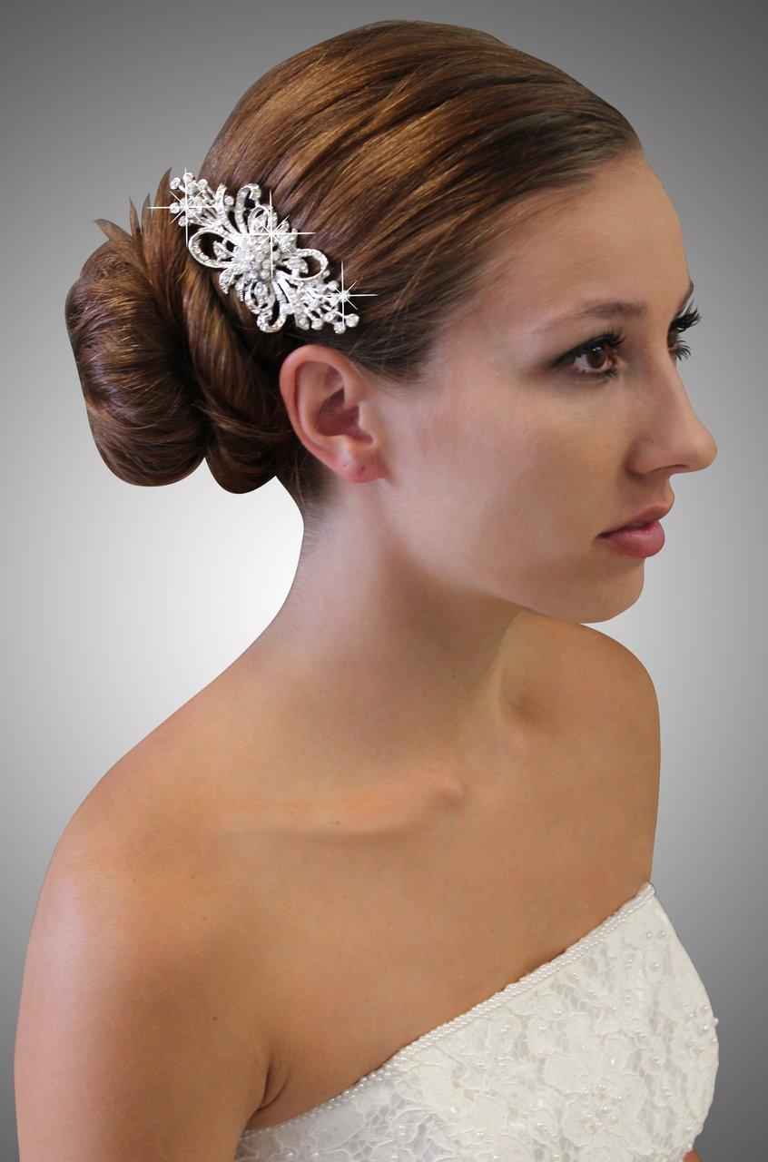 Bridal Austrian Hair Pin #HP3068
