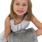 Chinchilla Grey Faux Fur Handmuff Child