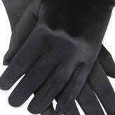 Black Opera Party Satin Gloves