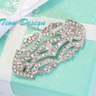 Bridal Brooch Vintage Crystal Brooch Hair Pin FREE US Shipping