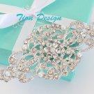 Bridal Wedding Austrian Hair Pin #3098 Free US SHipping