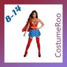 Superman Super Girl Wonder Woman Hero Outfit Fancy Dress Costume