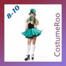 Mad Hatter Alice in Wonderland Tea Party Hostess Costume Fancy Dress