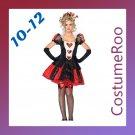 Queen of Hearts Alice in Wonderland Costume Fancy Dress