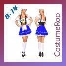 German Oktoberfest Maid Costume Beer Festival Fancy Dress