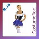 German Oktoberfest Maid Costume Beer Fancy Dress