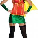 Robin Super Hero Super girl Fancy Dress Costume