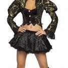 Mad Hatter Alice in Wonderland Tea Party Tease Costume Fancy Dress