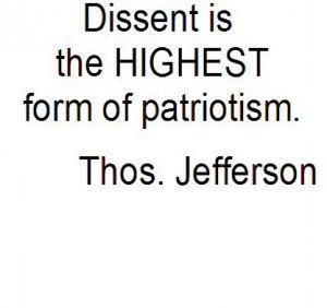 Patriotic Dissent