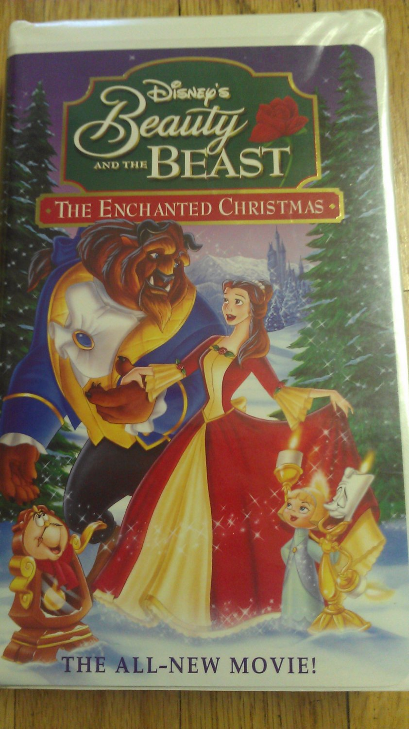 Beauty and the Beast : The Enchanted Christmas ( VHS ...