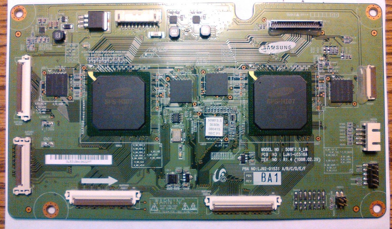 LJ92-01531A  OR NS-PDP50HD-09 // SAMSUNG & INSIGNIA  T-CON BOARD